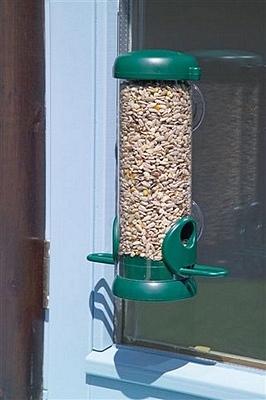 Karmnik Tubowy Dla Ptaków Do Mocowania Na Szybie Nblgws